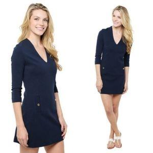 Lilly Pulitzer Navy Charlena Shift Dress